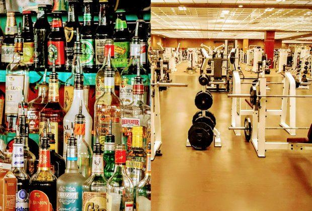 алкохол и тренировки